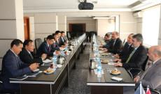 Kamboçya Heyetinin MUSİAD Ankara Ziyareti